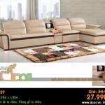 Mẫu ghế sofa da góc – Mã: DG29