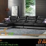 Mẫu ghế sofa da góc – Mã: DG31