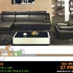 Mẫu ghế sofa da góc – Mã: DG32