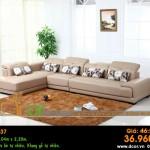 Mẫu ghế sofa da góc – Mã: DG37