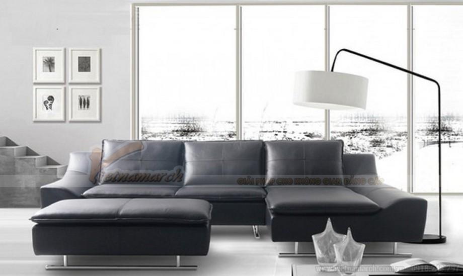 Ghế sofa da đen huyền bí mang ý nghĩa phong thuỷ độc đáo - 03