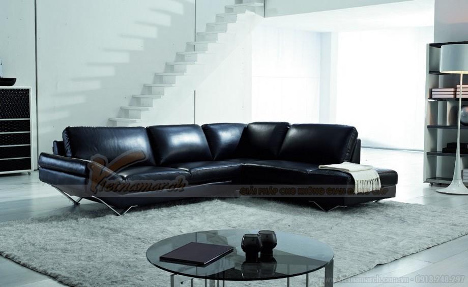 Ghế sofa da đen huyền bí mang ý nghĩa phong thuỷ độc đáo - 04