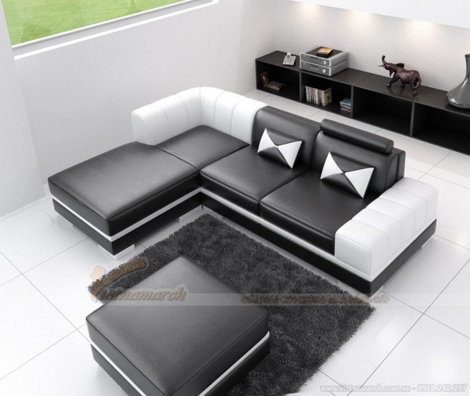 Ghế sofa da đen huyền bí mang ý nghĩa phong thuỷ độc đáo - 05