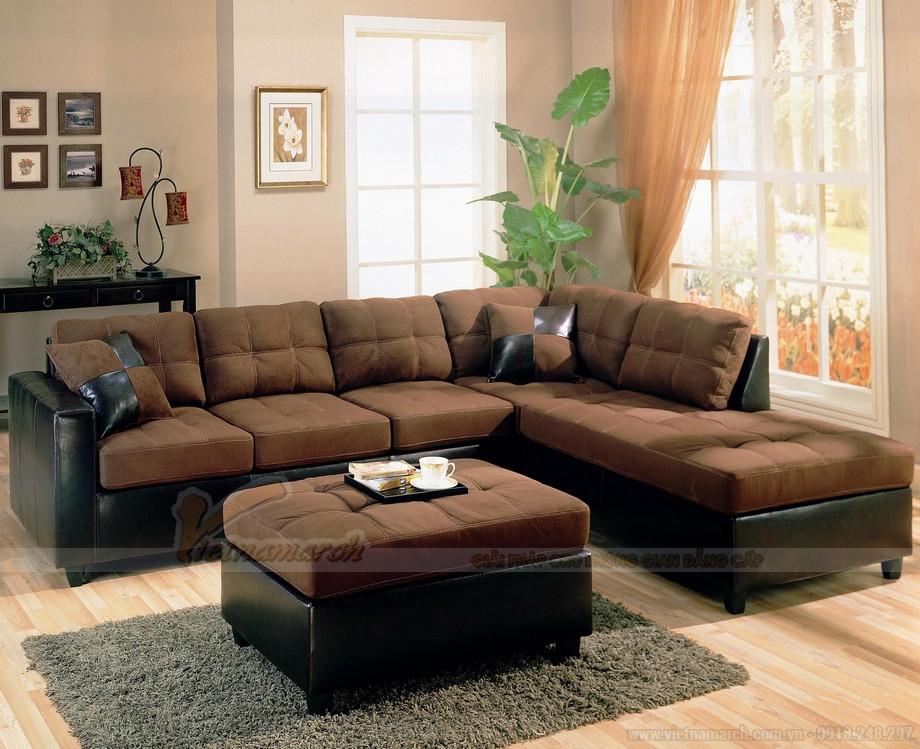 Cách kết hợp ghế sofa phòng khách với bàn trà hợp lý cho chung cư nhỏ - 03