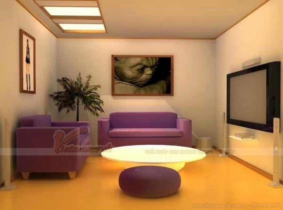 Cách kết hợp ghế sofa phòng khách với bàn trà hợp lý cho chung cư nhỏ - 07