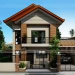 Thiết kế biệt thự 2 tầng mái thái hiện đại nhà anh Vĩnh – Quảng Bình