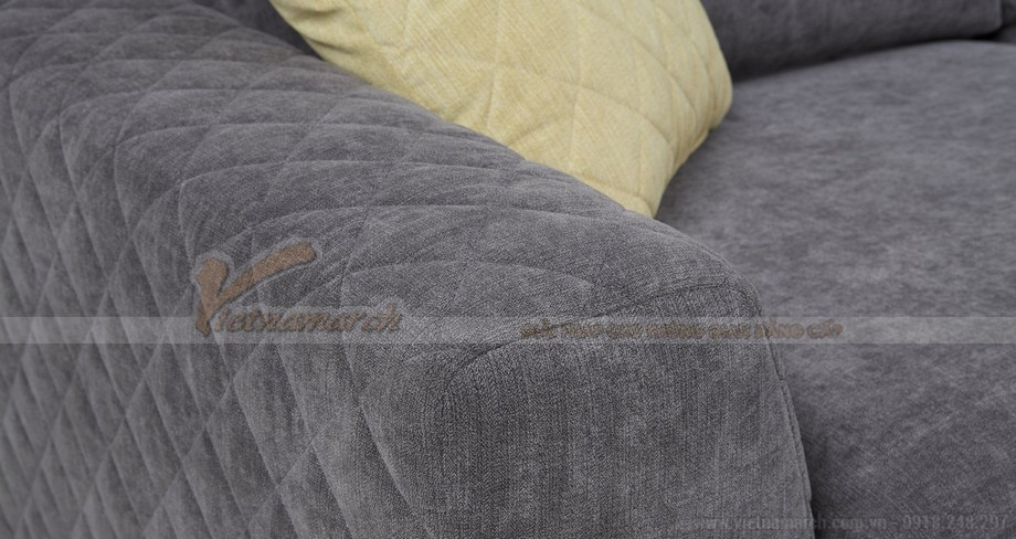 Chiêm ngưỡng hai mẫu ghế sofa vải nỉ đẹp rạng rỡ - 07