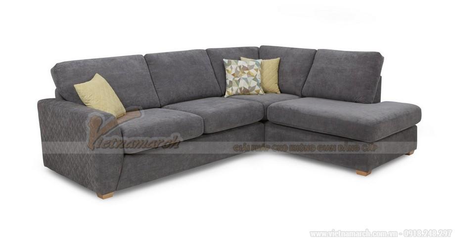 Chiêm ngưỡng hai mẫu ghế sofa vải nỉ đẹp rạng rỡ - 06