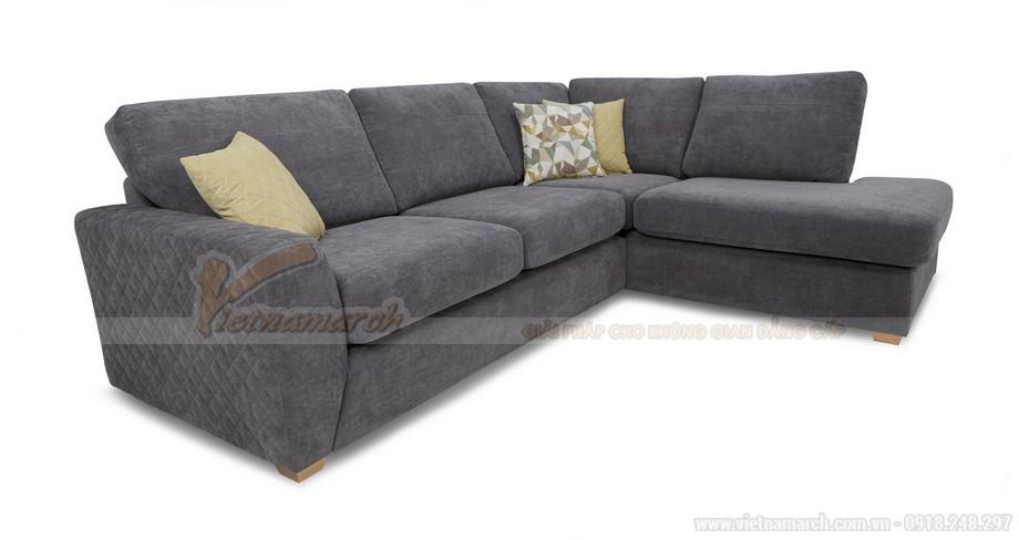 Chiêm ngưỡng hai mẫu ghế sofa vải nỉ đẹp rạng rỡ - 08