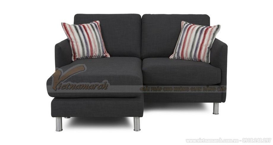Chiêm ngưỡng hai mẫu ghế sofa vải nỉ đẹp rạng rỡ - 01