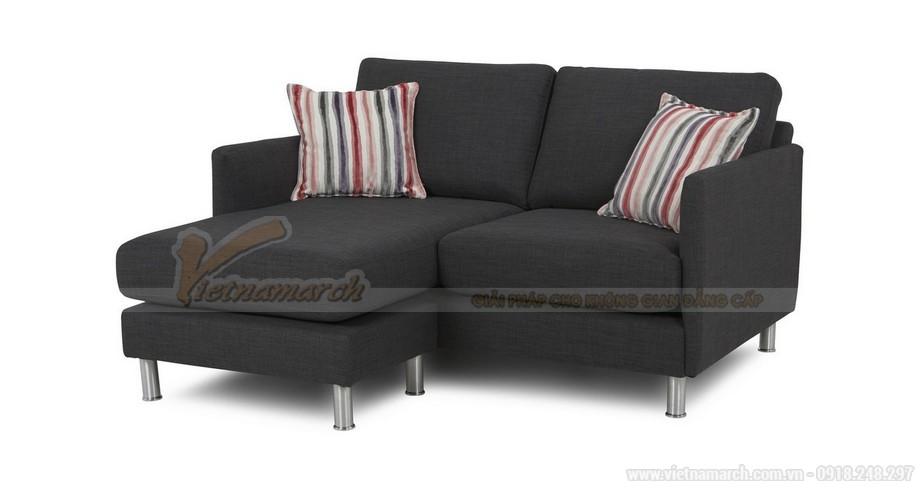 Chiêm ngưỡng hai mẫu ghế sofa vải nỉ đẹp rạng rỡ - 02