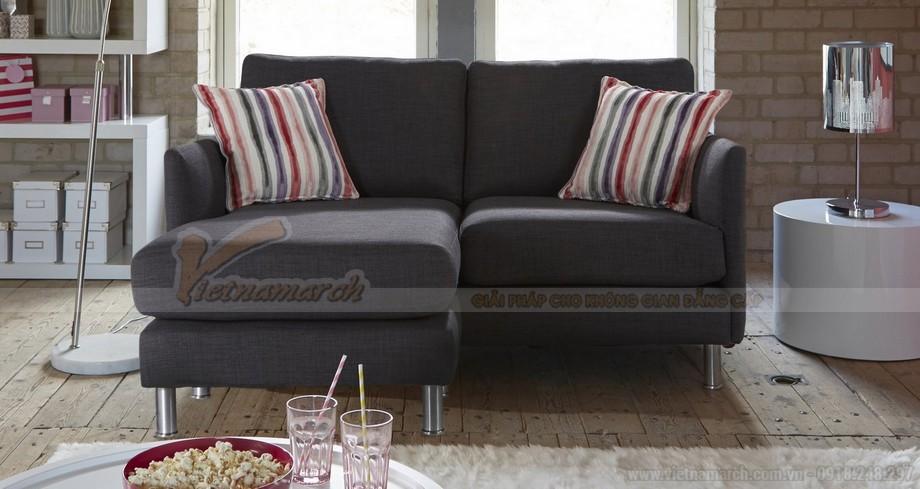 Chiêm ngưỡng hai mẫu ghế sofa vải nỉ đẹp rạng rỡ - 04