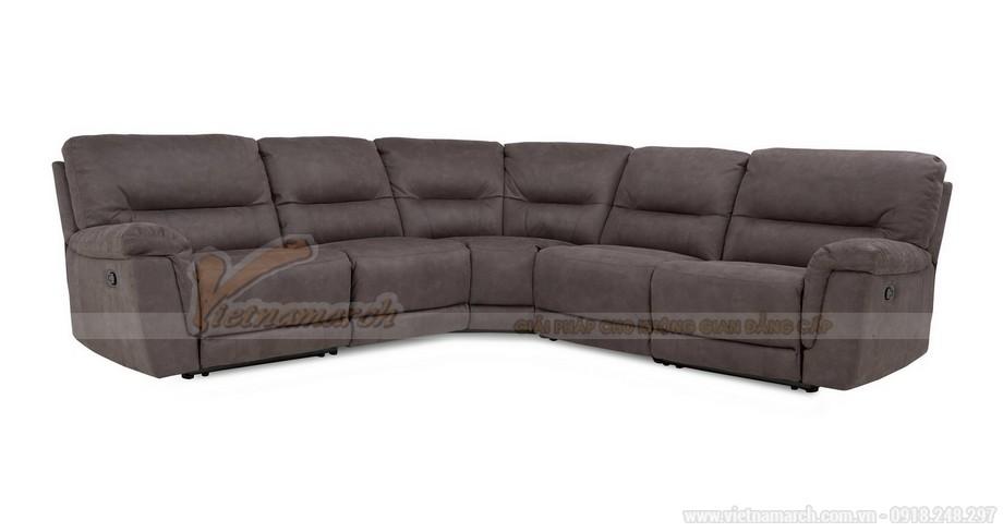 Chiêm ngưỡng mẫu ghế sofa góc bọc vải cao cấp 2016 - 06