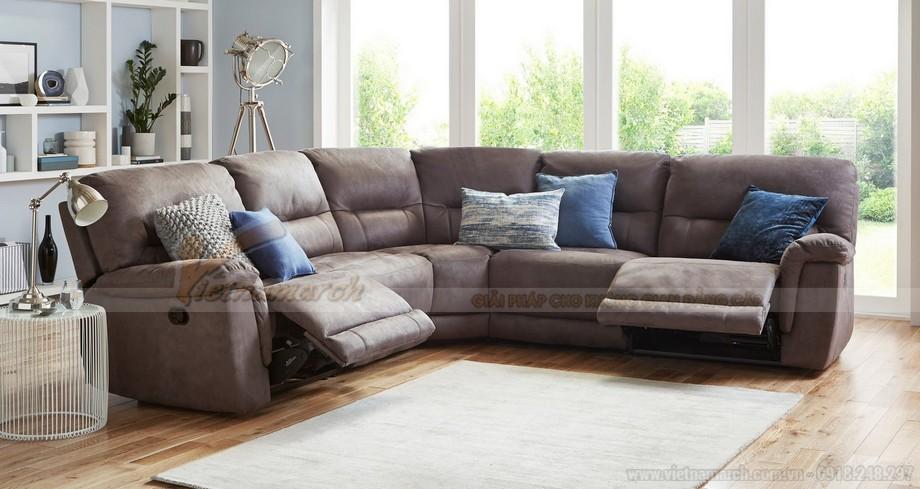 Chiêm ngưỡng mẫu ghế sofa góc bọc vải cao cấp 2016 - 08