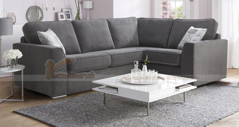 Chiêm ngưỡng mẫu ghế sofa góc bọc vải cao cấp 2016 - 02