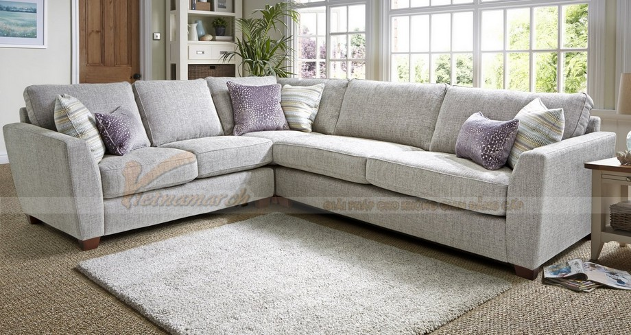 Chiêm ngưỡng mẫu ghế sofa góc bọc vải cao cấp 2016 - 04