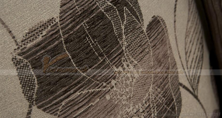 Chiêm ngưỡng mẫu ghế sofa kết hợp chất liệu da và vải độc đáo - 04