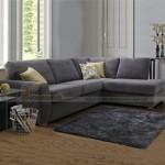 Hai mẫu ghế sofa vải nỉ lôi cuốn sang trọng cho phòng khách