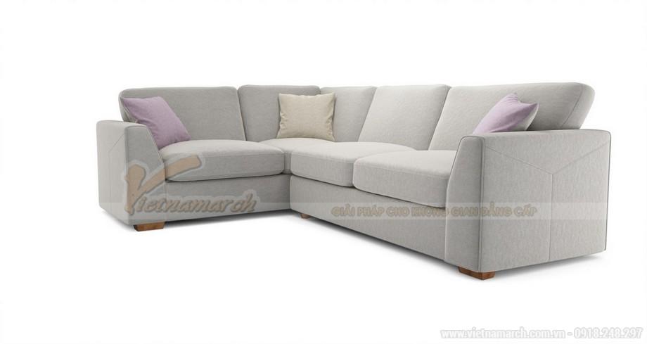 Hai mẫu ghế sofa vải lụa mềm mại cho không gian phòng khách - 01