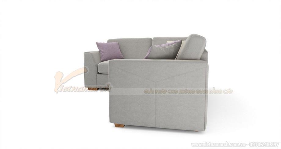 Hai mẫu ghế sofa vải lụa mềm mại cho không gian phòng khách - 02