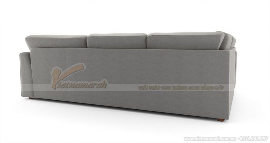Hai mẫu ghế sofa vải lụa mềm mại cho không gian phòng khách - 03