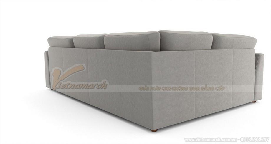 Hai mẫu ghế sofa vải lụa mềm mại cho không gian phòng khách - 04