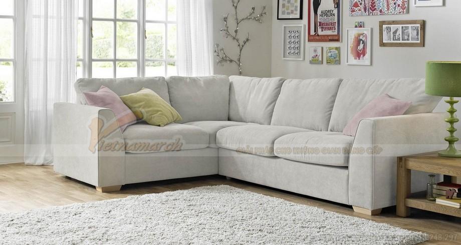 Hai mẫu ghế sofa vải lụa mềm mại cho không gian phòng khách - 06
