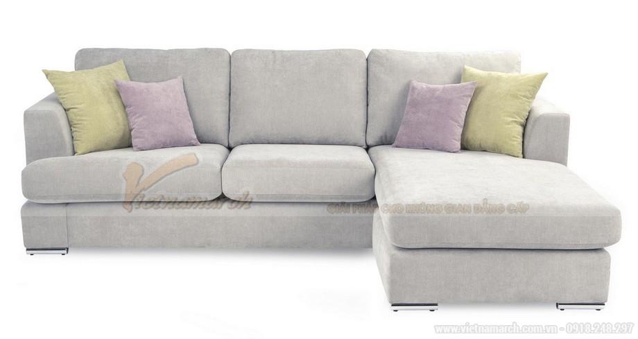 Hai mẫu ghế sofa vải lụa mềm mại cho không gian phòng khách - 07