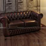 Mẫu ghế sofa da cổ điển đẹp, tinh tế cho phòng khách – Mã: SDC-052