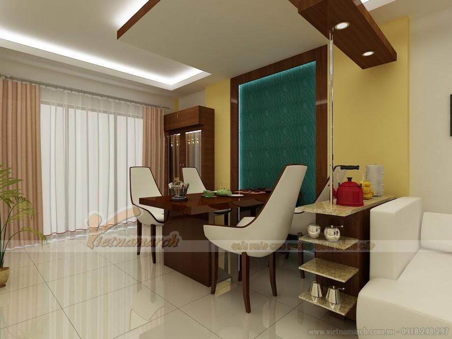 Tư vấn thiết kế nội thất biệt thự Quảng Ninh - Phòng ăn