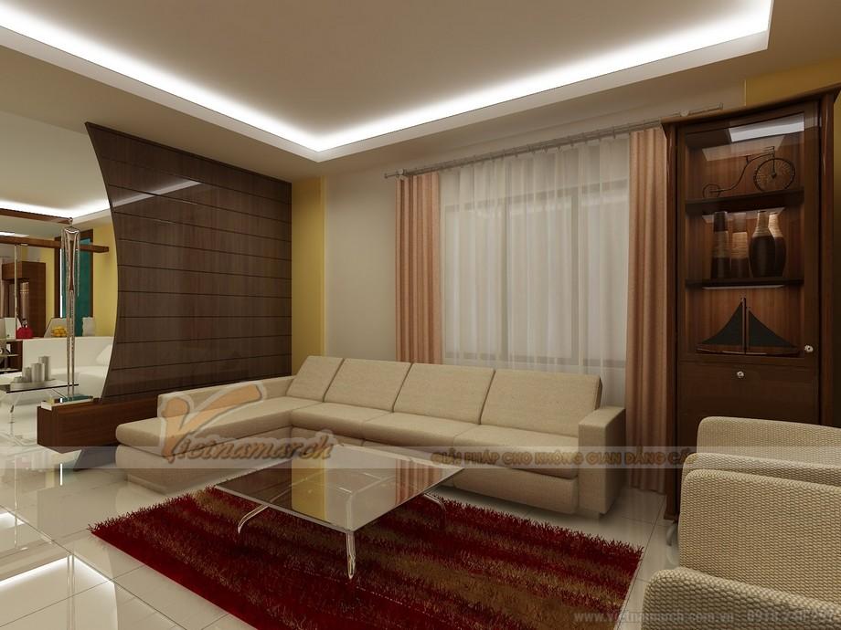 Tư vấn thiết kế nội thất biệt thự Quảng Ninh - Phòng khách
