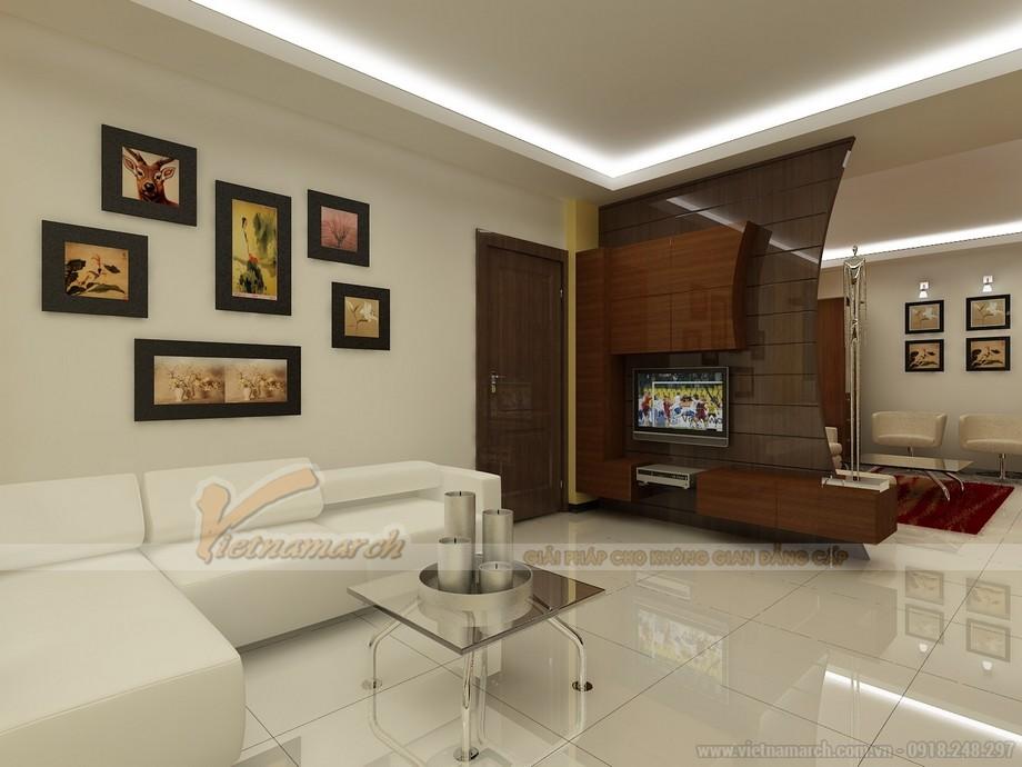 Mẫu ghế sofa da trắng đẹp lung linh cho không gian phong khách - 04