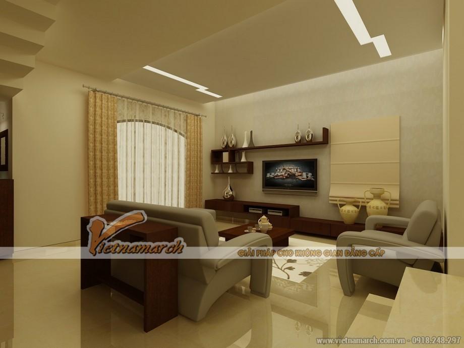 Thiết kế độc đáo với sáng tạo hiện đại trong phòng khách
