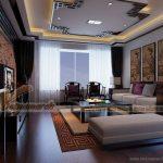 Thiết kế nội thất phong cách Á Đông trong căn hộ 02 Park 8 Time City
