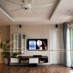 Tổng hợp mẫu trần thạch cao hiện đại cho phòng khách nhà cấp bốn