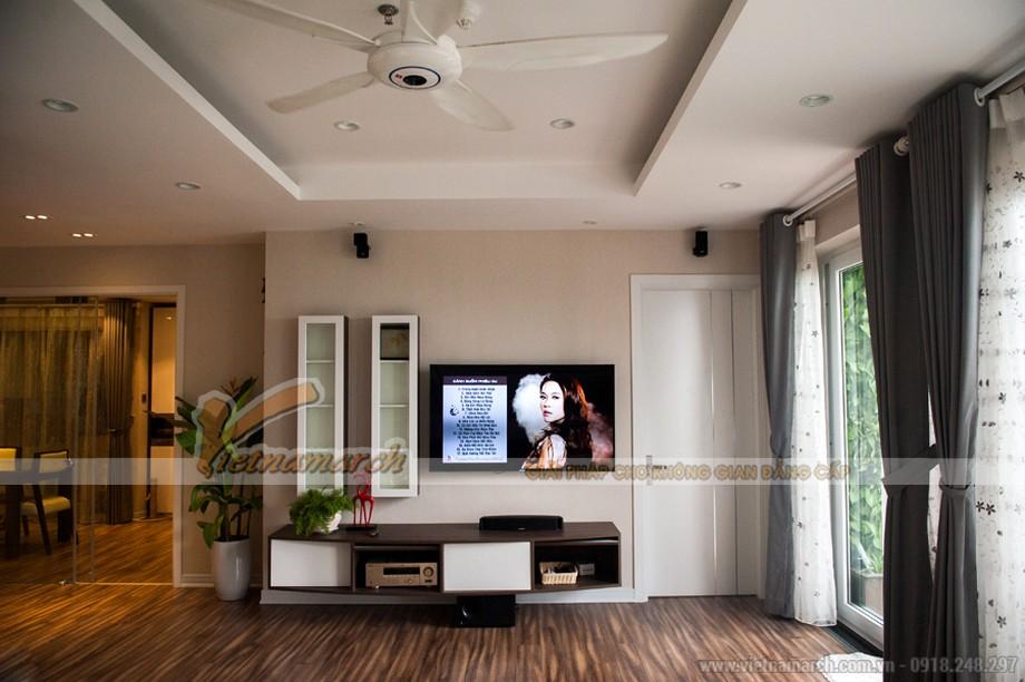 Tổng hợp mẫu trần thạch cao hiện đại cho phòng khách nhà cấp bốn-02