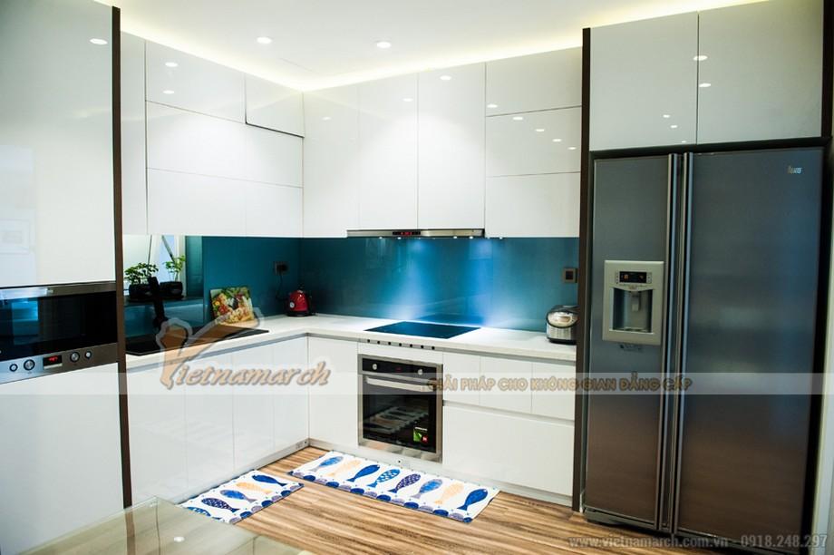 Căn bếp hiện đại với nhiều nội thất công năng sử dụng