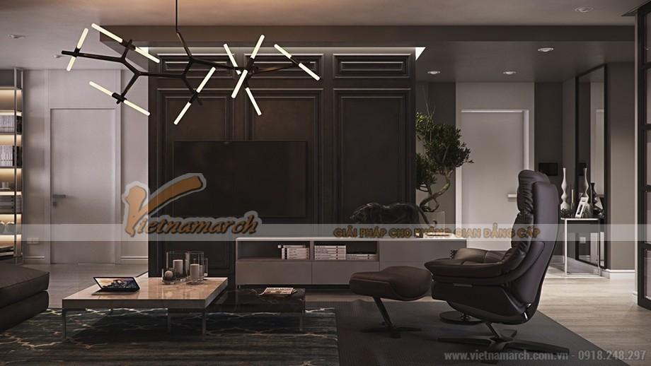 Cách bày trí độc đáo với những nội thất xa xỉ ở phòng khách