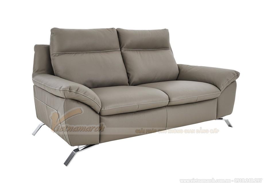Chiêm ngưỡng những mẫu ghế sofa chân Inox sang trọng và đẳng cấp - 02