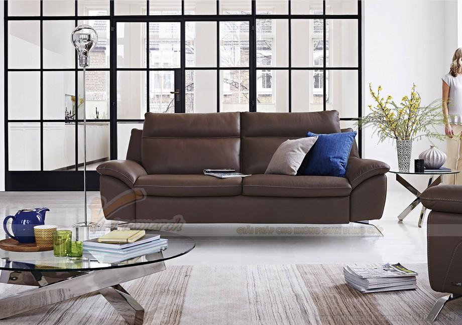Tổng hợp những mẫu ghế sofa chất liệu da bò đẹp nhất 2016 - 03