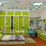Gợi ý những mẫu trần thạch cao đẹp nhất cho phòng ngủ trẻ em