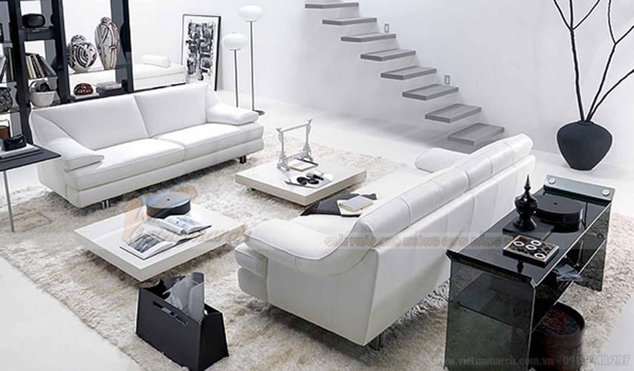 Mẫu ghế sofa đẹp cho phòng khách hiện đại - 01