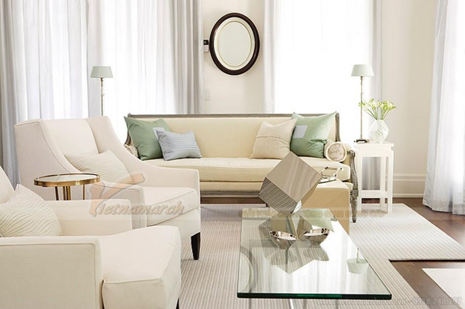Mẫu ghế sofa đẹp cho phòng khách hiện đại- 03
