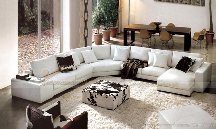 Mẫu ghế sofa đẹp cho phòng khách hiện đại- 04