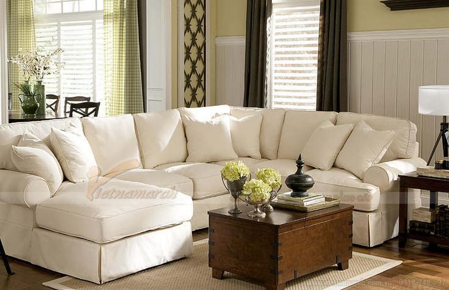 Mẫu ghế sofa đẹp cho phòng khách hiện đại- 05