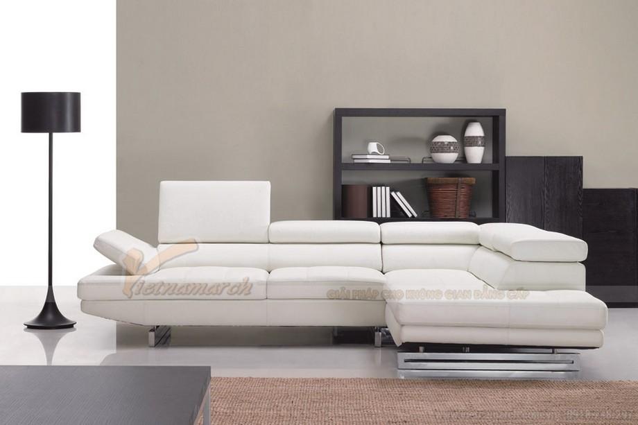 Mẫu ghế sofa đẹp cho phòng khách hiện đại- 06