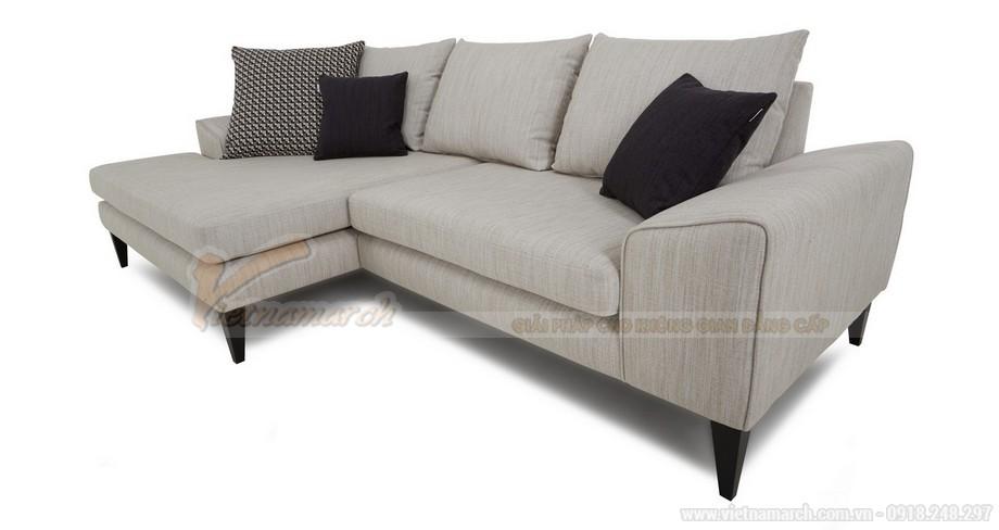 Mẫu ghế sofa góc cho không gian phòng khách - 03