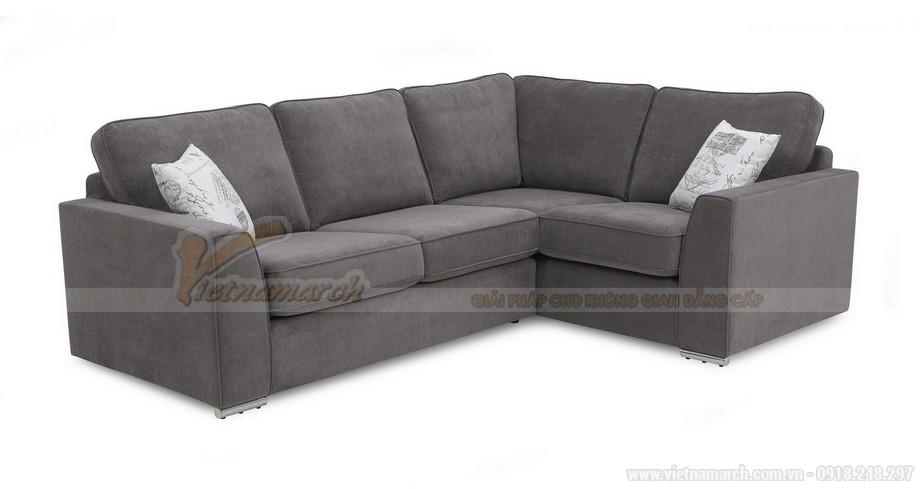 Mẫu ghế sofa góc cho không gian phòng khách - 07