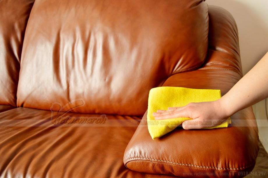 Các cách làm sạch ghế sofa da và sofa vải nỉ nhanh chóng, hiệu quả - 03