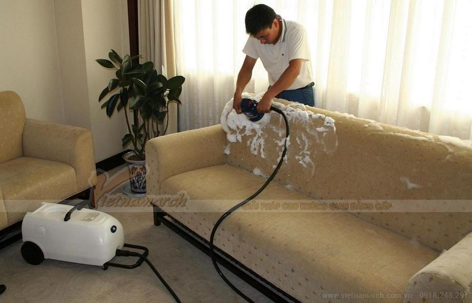 Các cách làm sạch ghế sofa da và sofa vải nỉ nhanh chóng, hiệu quả - 05